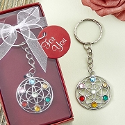 Chakra Key Chain Party Favors