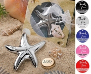 Starfish Bottle Opener with Personalized Thank You Tag