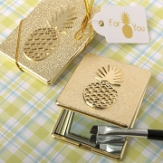 Pineapple Themed Compact Mirror