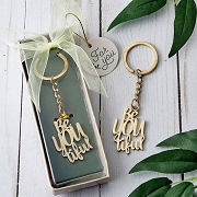 Be-You-Tiful Gold Key Chain