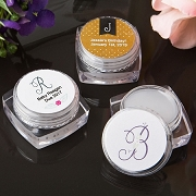 Monogram Collection Lip Balm Favors