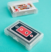 Perfectly Plain Playing Cards with Case