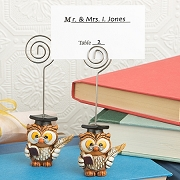 Wise Graduation Owl Place Card Holders - Graduation Ceremony Favors