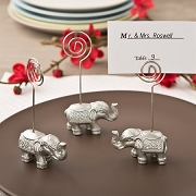 Good Luck Elephant Place Card Holder