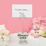 Heart Placecard Holder and Photo Holder