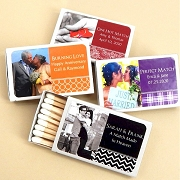 Photo Matchbox Wedding Favors - Set of 50
