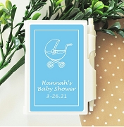 Baby Carriage Personalized Note Book Travel Journal