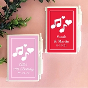 Musical Note Personalized Notebook Travel Journal
