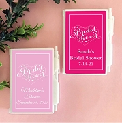 Bridal Shower Personalized Notebook Travel Journal