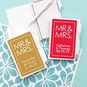 Mr. and Mrs. Block Personalized Notebook Travel Journal