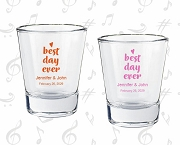 Personalized Shot Glasses - Best Day Ever
