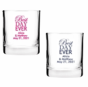 All You Need Is Love Personalized Shot Glass Votive Candle Holders (2 oz)