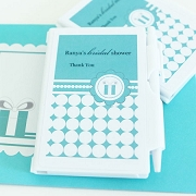 Personalized Notebook Favors - Something Blue
