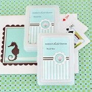 Personalized Playing Cards - Beach Party