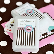 Personalized Playing Cards - Cupcake Party