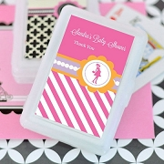Going to Pop - Pink Personalized Playing Cards