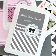 Gender Reveal Party Personalized Playing Cards
