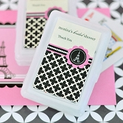 Personalized Playing Cards - Parisian Party