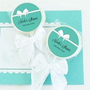 Bride & Co Personalized Lollipop Wedding Favors