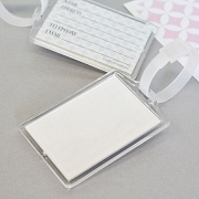 DIY Blank Acrylic Luggage Tags - DIY Travel Favors