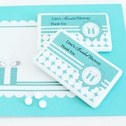 Personalized Mini Mint Favors - Something Blue