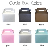 DIY Mini Gable Boxes (set of 12)