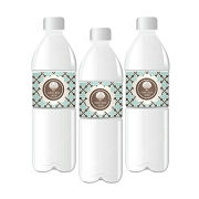 Beach Party Personalized Water Bottle Labels