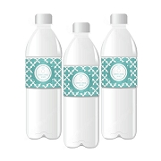 Something Blue Personalized Water Bottle Labels