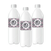 Wedding Shower Personalized Water Bottle Labels