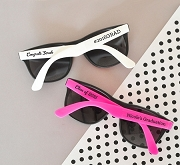 Personalized Graduation Sunglass Party Favors