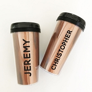Personalized Men's Travel Tumblers - Groomsmen Gift