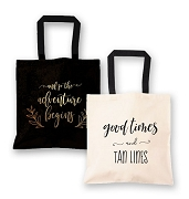 Theme Canvas Tote Bag - Destination Wedding