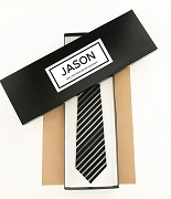 Personalized Tie Box Groomsman Gift