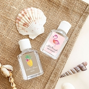 Personalized Tropical Beach Hand Sanitizers