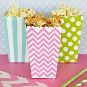 DIY Popcorn 'n Treats Boxes (Set of 12)