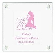 Mis Quince Anos Birthday Party Coasters