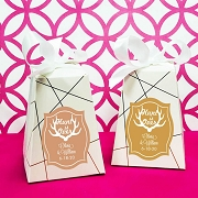 Personalized Wedding Favor Bags - Hunt Is Over (Set of 12)