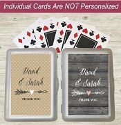 Rustic Arrow Personalized Hand Sanitizers
