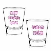 Custom Design Shot Glass (1.75 oz)