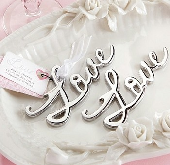 Love Bottle Opener Wedding and Party Favor