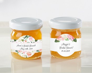 Bridal Shower Brunch Honey Jars (Set of 12)