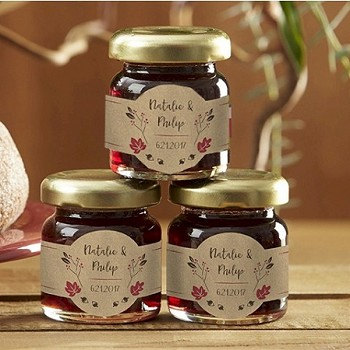 Personalized Strawberry Jam (set of 12) - Fall Twig