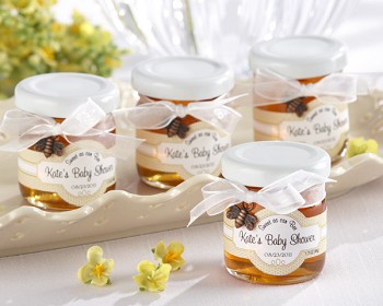 Sweet As Can Bee Personalized Honey Favors (Set of 12)