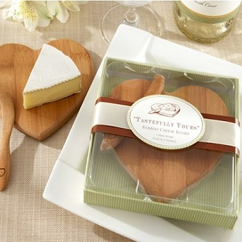 Shaped Bamboo Cheese Board