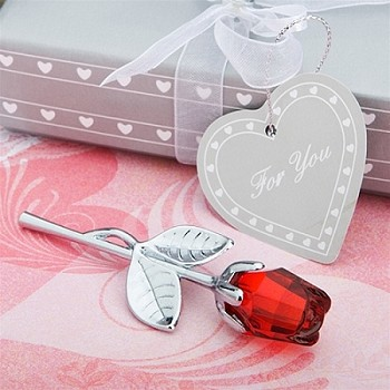 Choice Crystal Collection Red Rose