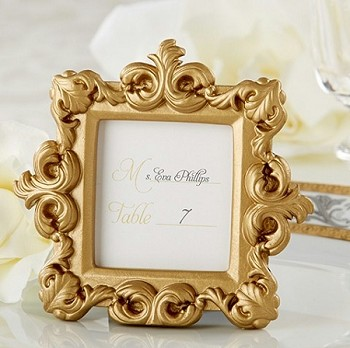 Royal Gold Baroque Place Card Frame