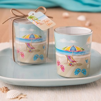 Beach Themed Votive Candle Holder