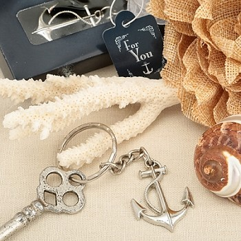 Ocean Themed Anchor Key Chain