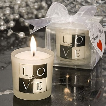 LOVE Design Candle
