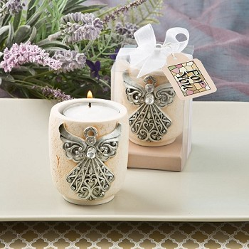 Angel Design Candle Tea Light Holder